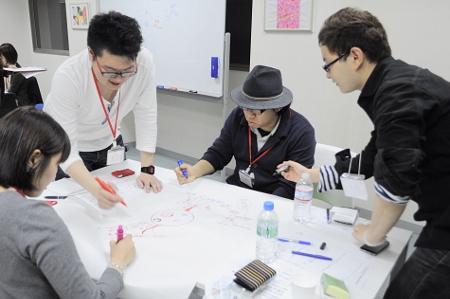 学生座談会(2014年)の様子
