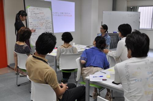 Next舞台制作塾オープンサロン「事例紹介と実践で知る、対話型ワークショップの可能性」の様子